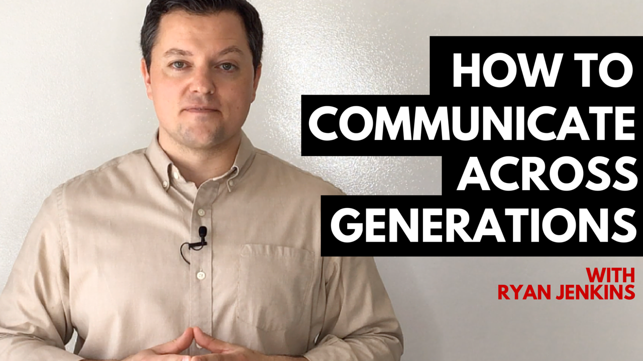 How to communicate across generations