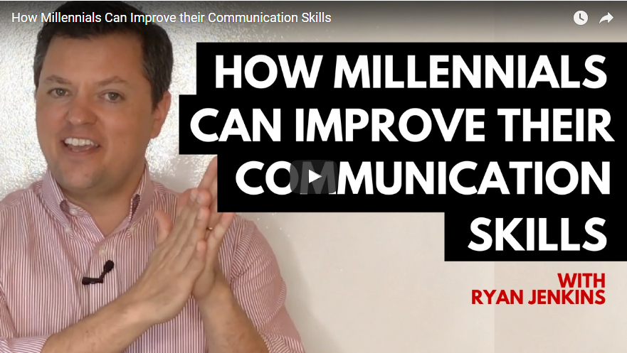 Video: How Millienials can Improve Their Communication Skills