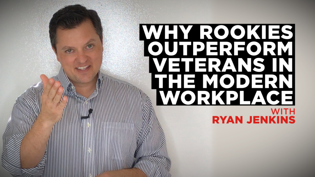 Why Rookies Outperform Veterans in the Modern Workplace