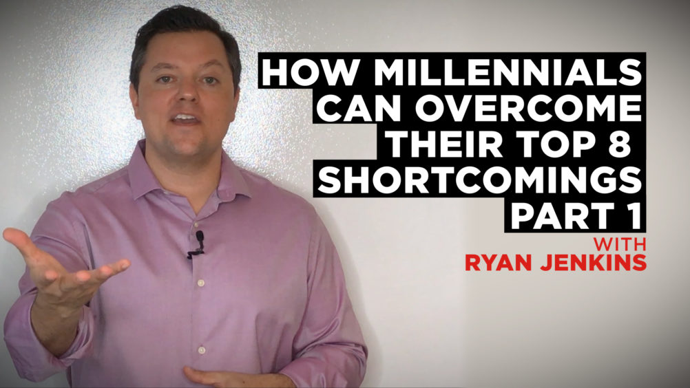 How Millennials Can Overcome Their Top 8 Shortcomings (Part 1)
